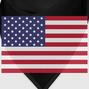 Independence Day cross-stitch american flag Caps - Bandana