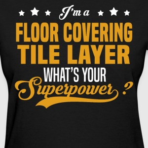 Floor Covering Tile Layer - Women's T-Shirt