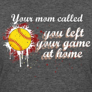 SOFTBALL GAME AT HOME T-Shirts - Women's 50/50 T-Shirt