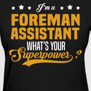 Foreman Assistant - Women's T-Shirt