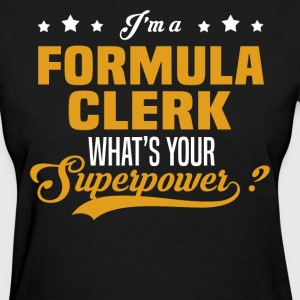 Formula Clerk - Women's T-Shirt