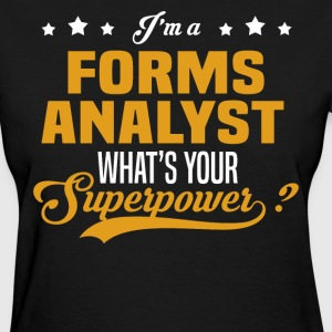 Forms Analyst - Women's T-Shirt