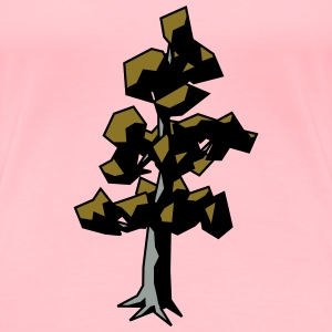 Scots pine tree - Women's Premium T-Shirt