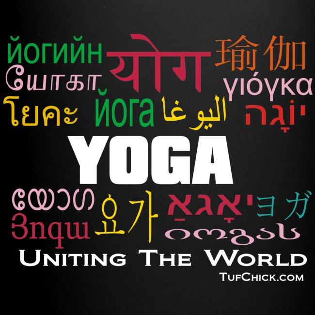 Yoga - Uniting The World Mug