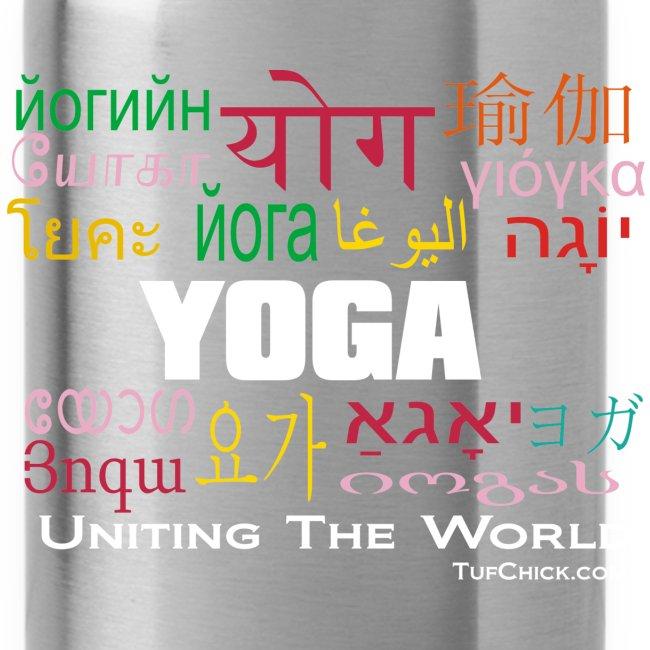 Yoga - Uniting The World Travel Mug