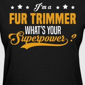 Fur Trimmer - Women's T-Shirt