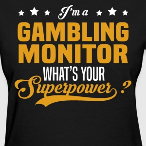 Gambling Monitor - Women's T-Shirt