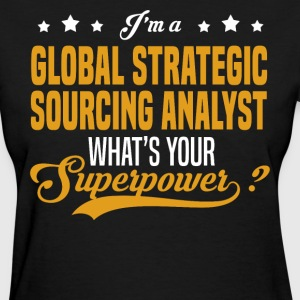 Global Strategic Sourcing Analyst - Women's T-Shirt