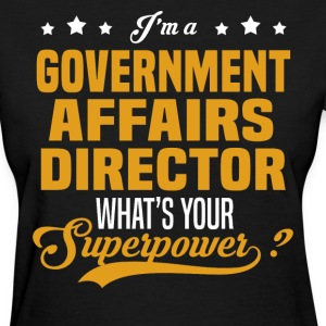 Government Affairs Director - Women's T-Shirt