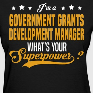 Government Grants Development Manager - Women's T-Shirt