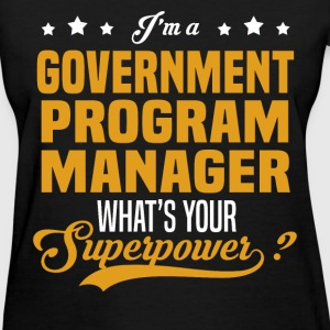 Government Program Manager - Women's T-Shirt