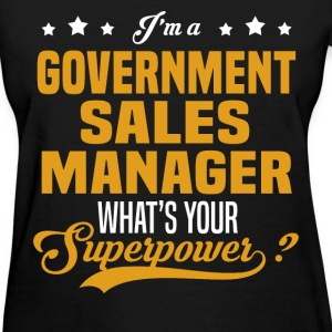 Government Sales Manager - Women's T-Shirt