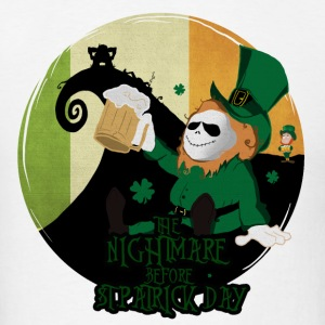 Nightmare before St.Patrick Day - Men's T-Shirt