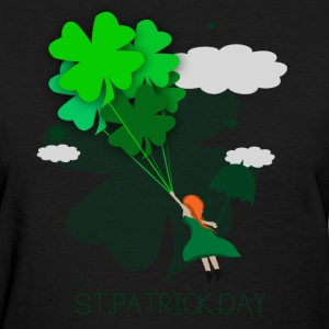 Happy St. Patrick Day - Women's T-Shirt