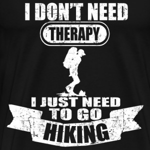 HIKING 3244352323.png T-Shirts - Men's Premium T-Shirt
