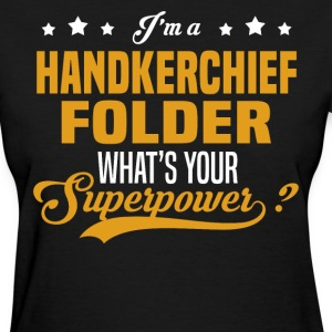 Handkerchief Folder - Women's T-Shirt