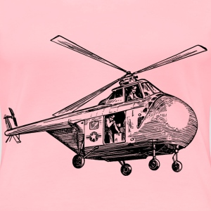 Helicopter - Women's Premium T-Shirt
