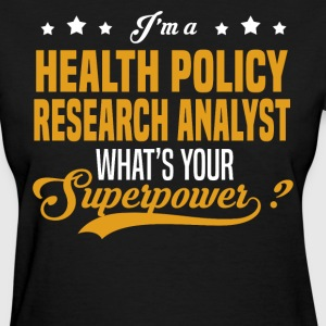 Health Policy Research Analyst - Women's T-Shirt