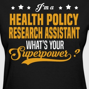 Health Policy Research Assistant - Women's T-Shirt