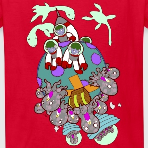 AlienVasion 101 Kids' Shirts - Kids' T-Shirt