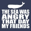 Seinfeld - The Sea Was Angry That Day My Friend T-Shirts - Men's Premium T-Shirt