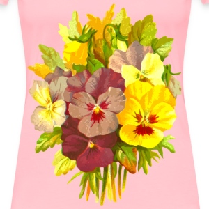 Pansies 2 - Women's Premium T-Shirt