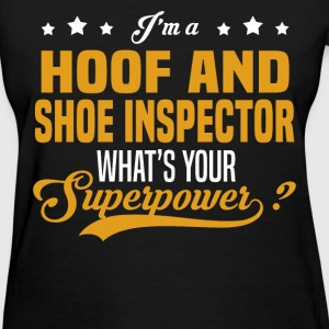 Hoof And Shoe Inspector - Women's T-Shirt