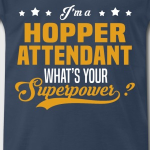 Hopper Attendant - Men's Premium T-Shirt