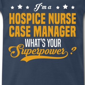 Hospice Nurse Case Manager - Men's Premium T-Shirt
