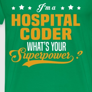Hospital Coder - Men's Premium T-Shirt