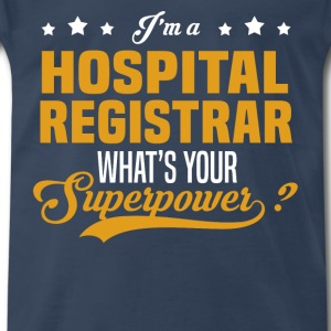 Hospital Registrar - Men's Premium T-Shirt