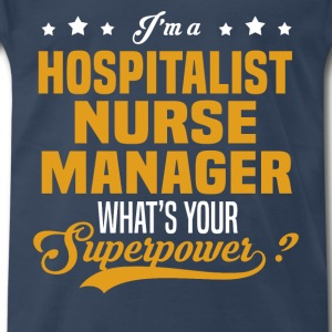 Hospitalist Nurse Manager - Men's Premium T-Shirt