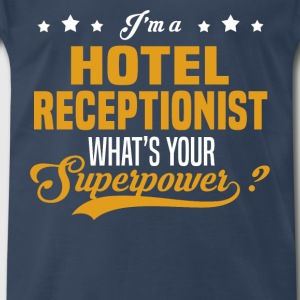 Hotel Receptionist - Men's Premium T-Shirt