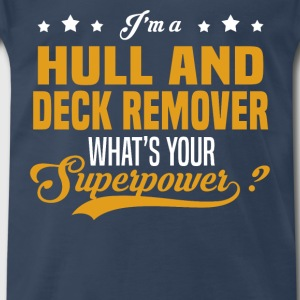 Hull And Deck Remover - Men's Premium T-Shirt