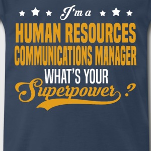 Human Resources Communications Manager - Men's Premium T-Shirt