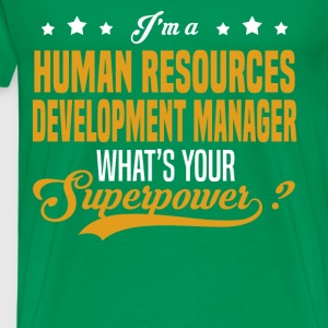 Human Resources Development Manager - Men's Premium T-Shirt