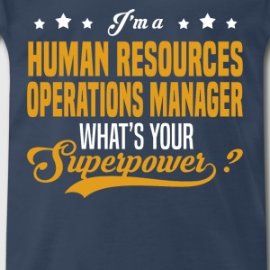 Human Resources Operations Manager - Men's Premium T-Shirt