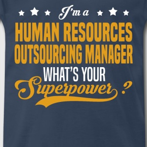 Human Resources Outsourcing Manager - Men's Premium T-Shirt