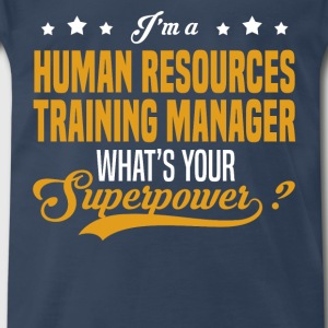 Human Resources Training Manager - Men's Premium T-Shirt