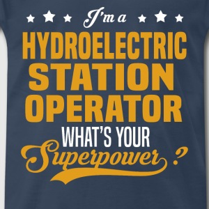 Hydroelectric Station Operator - Men's Premium T-Shirt