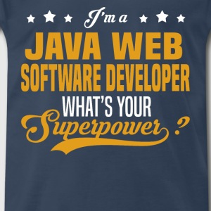 Java Web Software Developer - Men's Premium T-Shirt