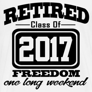 retired 2017 1212.png T-Shirts - Men's Premium T-Shirt