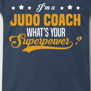 Judo Coach - Men's Premium T-Shirt