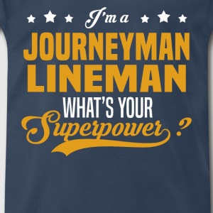 Journeyman Lineman - Men's Premium T-Shirt