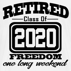 retired 2020 112121.png T-Shirts - Men's Premium T-Shirt