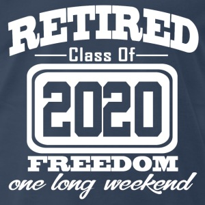 retired 2020 78734734.png T-Shirts - Men's Premium T-Shirt