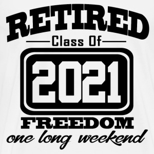 retired 2021 1111222.png T-Shirts - Men's Premium T-Shirt