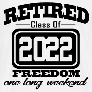 retired 202 12121211212.png T-Shirts - Men's Premium T-Shirt