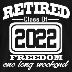 retired 2022 112323212121.png T-Shirts - Men's Premium T-Shirt