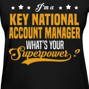 Key National Account Manager - Women's T-Shirt